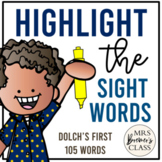 Highlight A Sight Word