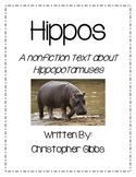 Hippos - A Nonfiction Text