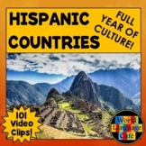 Spanish Speaking Countries Bundle for 21 Hispanic Countries