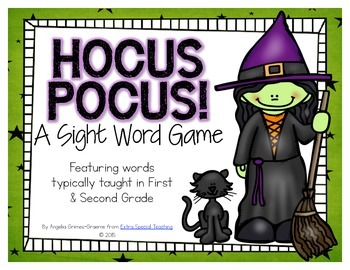 Hocus Pocus! - A Sight Word Game