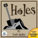 Holes Novel Study CD