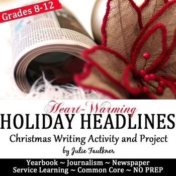 Holiday Headlines for Yearbook or Newspaper, Creative, Pro