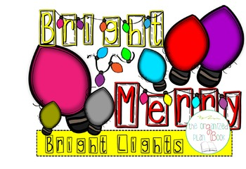 Holiday Lights Clip Art