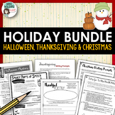Holiday Activities - Halloween, Thanksgiving and Christmas