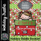 Holiday Riddle Booklet--Literacy and Logic Activities {Unw