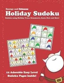 Holiday Sudoku: Sudoku using Holiday Trees, Ornaments, Sab