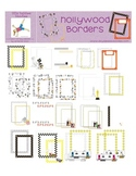 Hollywood Borders and Frames Digital Graphics, Clip Art