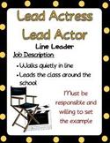 Hollywood Job Descriptions, Editable Version