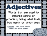 Hollywood Movie Grammar Wall Placards