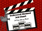 {Hollywood-Theme Job Chart} 24 Classroom Jobs and Blanks