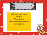 Hollywood Theme Open House~~ Back to School