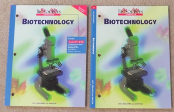 Holt BioSources Biotechnology Lab Manual Student and Teacher Ed
