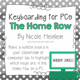 Home Row - Keyboarding Posters