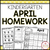 Homework Packet: Kindergarten | April