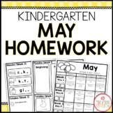Homework Packet: Kindergarten   May