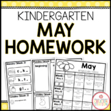 Homework Packet: Kindergarten | May