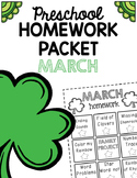 Homework Packet- March
