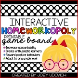 """Homeworkopoly: """"A Bit of Bright Colors"""" Theme"""