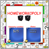 Homeworkopoly - SMART Board