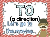 Homonym Posters - to, too, two, your, you're, its, it's
