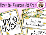 Honey Bee: Classroom Job Chart
