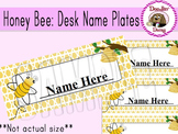 Honey Bee: Desk Name Plates