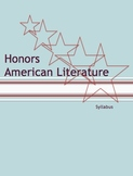 Honors English III: American Literature Course Syllabus