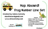 Hop Aboard!  Frog Number Line Set