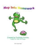 Hop Into Homework Packet