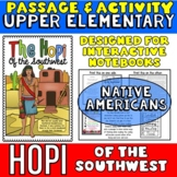 Hopi Native Americans Passage and Activity for INTERACTIVE