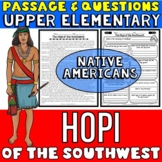 Hopi Native Americans Passage and Questions