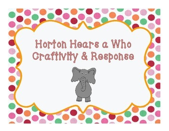 Horton Hears a Who Craftivity