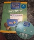 Houghton Mifflin CD ROM Social Science Lesson Planner