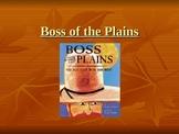 Houghton Mifflin Vocabulary PPT Boss of the Plains