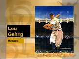 Houghton Mifflin Vocabulary PPT Lou Gehrig
