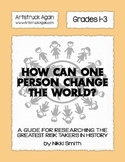 How Can One Person Change The World?