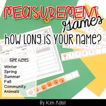 Measurement Game: How Long is Your Name?