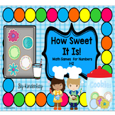 How Sweet It Is! Math Subitizing Games for Numbers 2 to 12