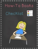 How-To Books Checklist
