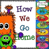How We Go Home Clippie Chart - Programmable Name Tags