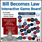 How a Bill Becomes a Law Board Game Activity