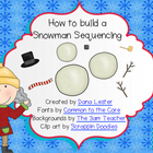 How to Build a Snowman Sequencing- FREE!
