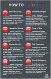 """""""How to Google"""" Poster - 3 Pack - Great Technology Teaching Tool"""