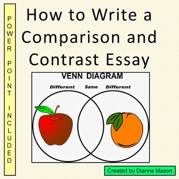 How to Write a Comparison and Contrast Essay for High Scho