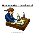 How to write a conclusion for an essay.