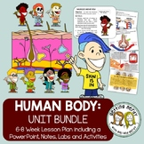 Human Body Bundled Unit PowerPoint and Lessons for ALL SYSTEMS