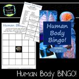 Human Body Systems Bingo