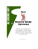 Human Body Systems Exam / Test