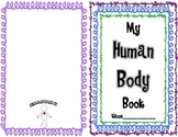 Human Body Systems Student Book & Paper Doll Foldable + 5 Senses