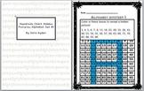 Hundreds Chart Hidden Pictures Alphabet Set #1